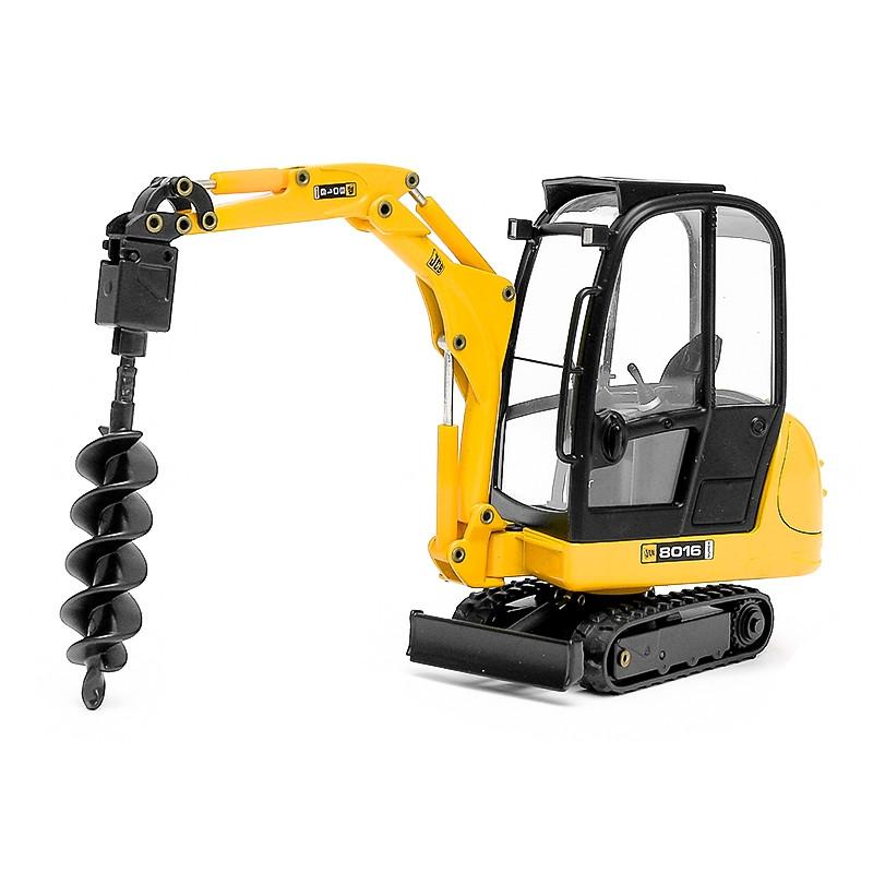 Mini escavadora JCB 8016 perfuradora 1:25