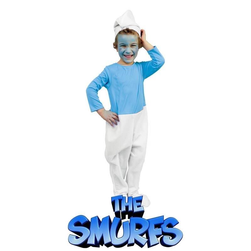 Disfarce smurf Infantil