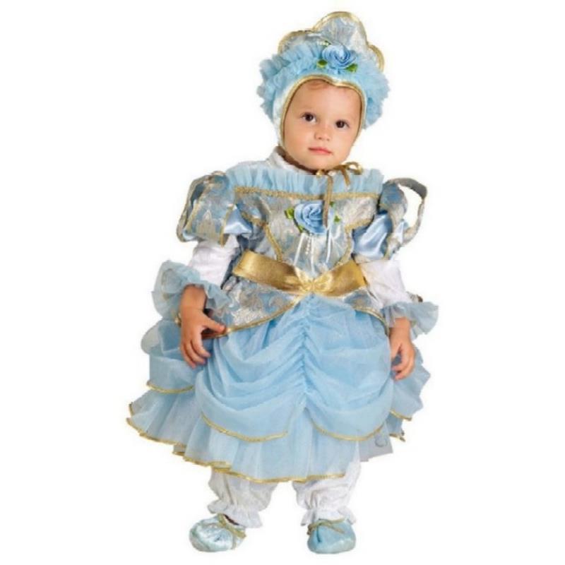 Disfarce Princesa Azul Bebé