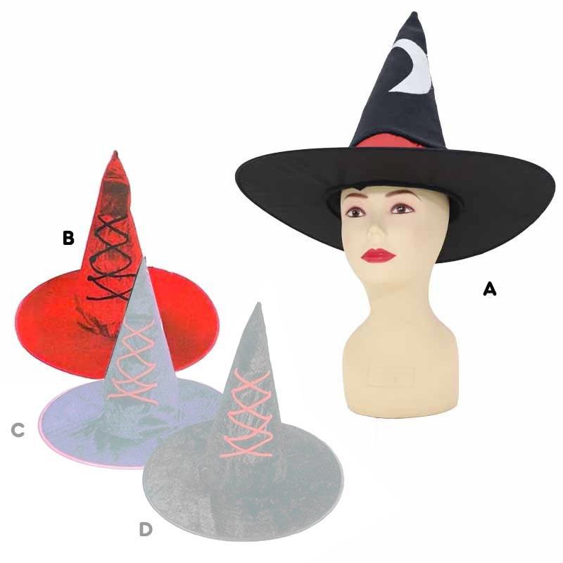 Chapéu de bruxa adulto