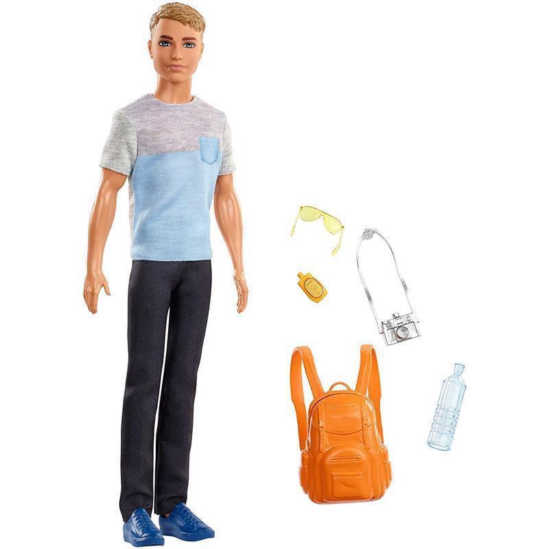 Barbie Ken Vamos de viagem