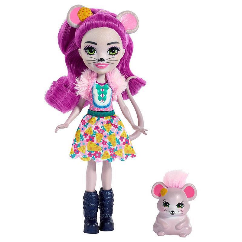 Enchantimals Maela mouse e Fondue