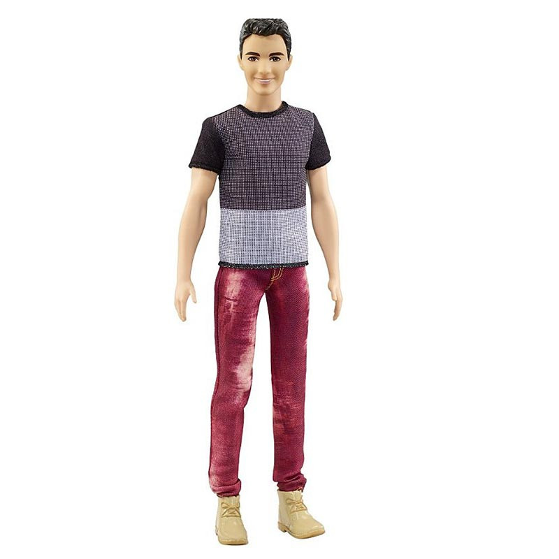 Barbie Ken Fashionistas Color Blocked Cool