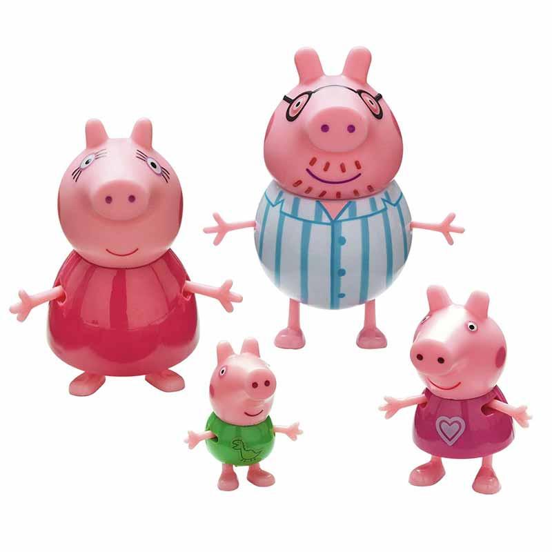 Peppa Pig Pack 4 figuras família