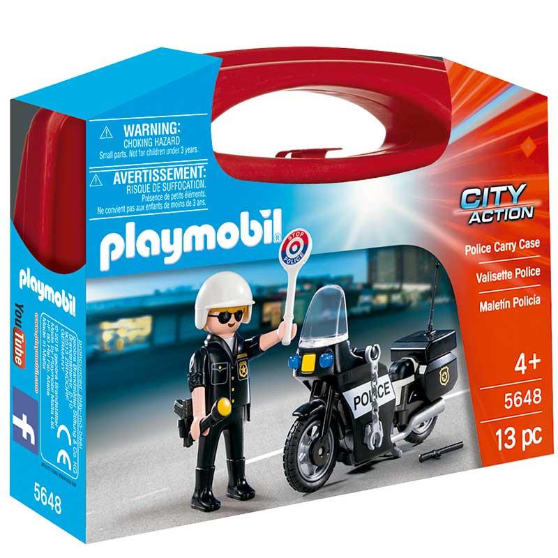 Playmobil City action Maleta Polícia