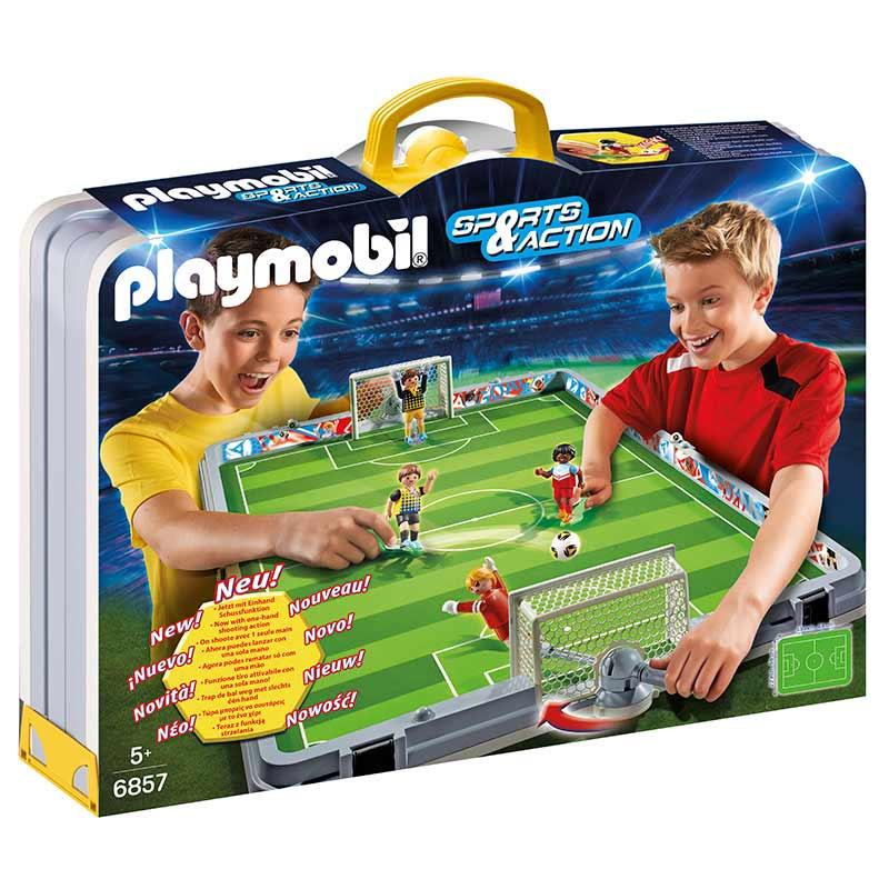 Playmobil Sport & Action set de futebol mala