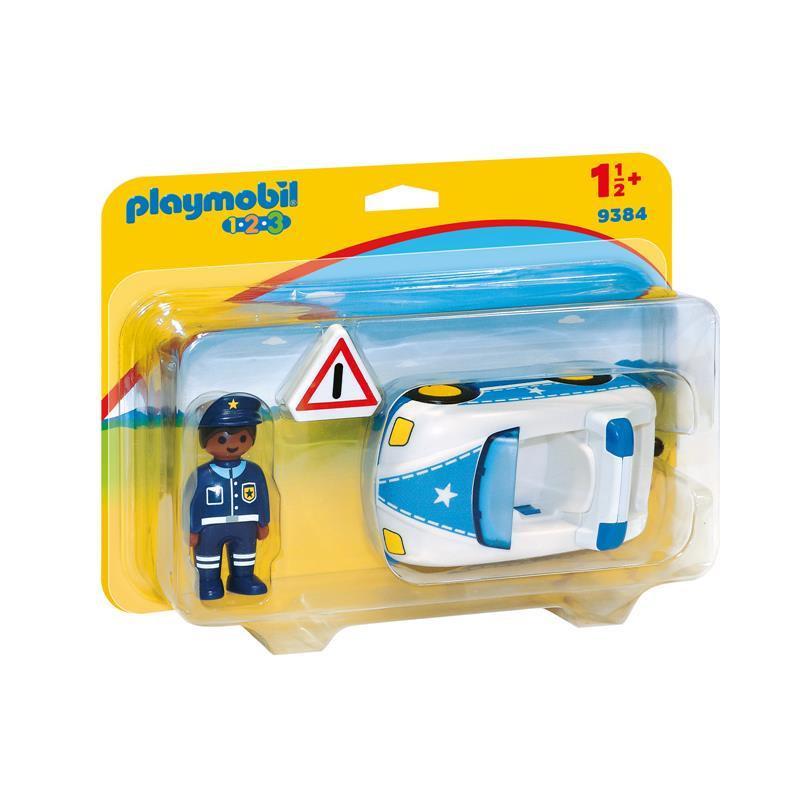 Playmobil 1.2.3 Carro da Polícia
