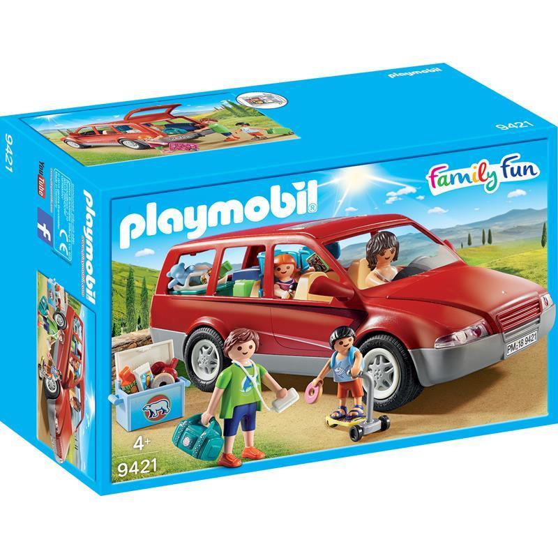 Playmobil Family Fun carro familiar