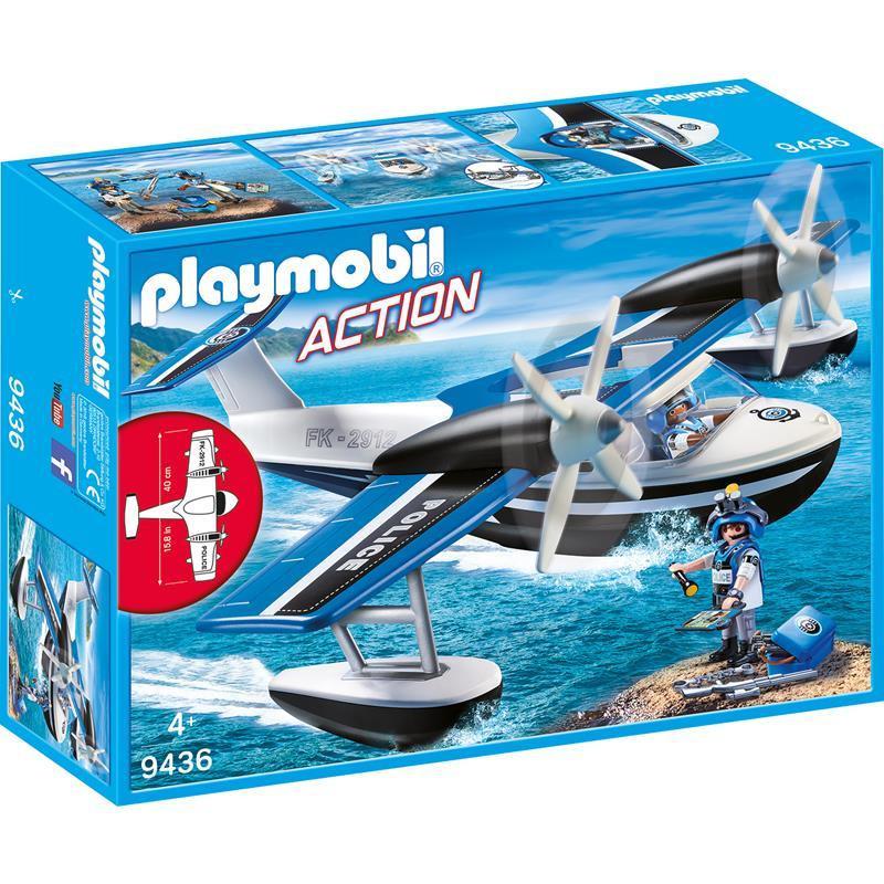 Playmobil City Action hidroavião da policia