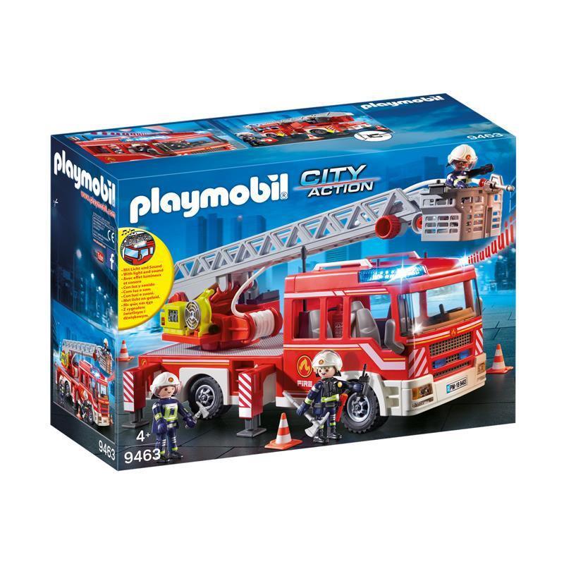 Playmobil City Action Carro de Bombeiros + Escada
