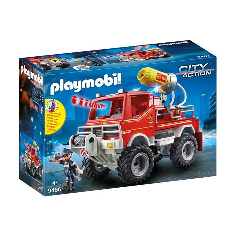 Playmobil City Action Todo-o-Terreno de Bombeiros