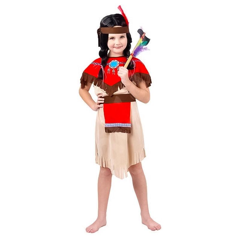Disfarce Menina índio infantil