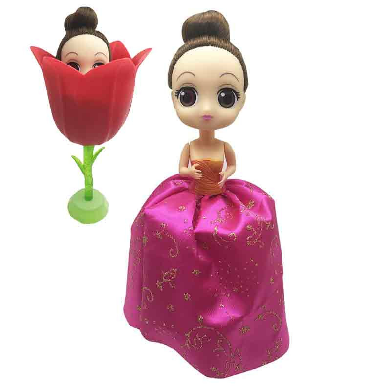Boneca Flower Rose
