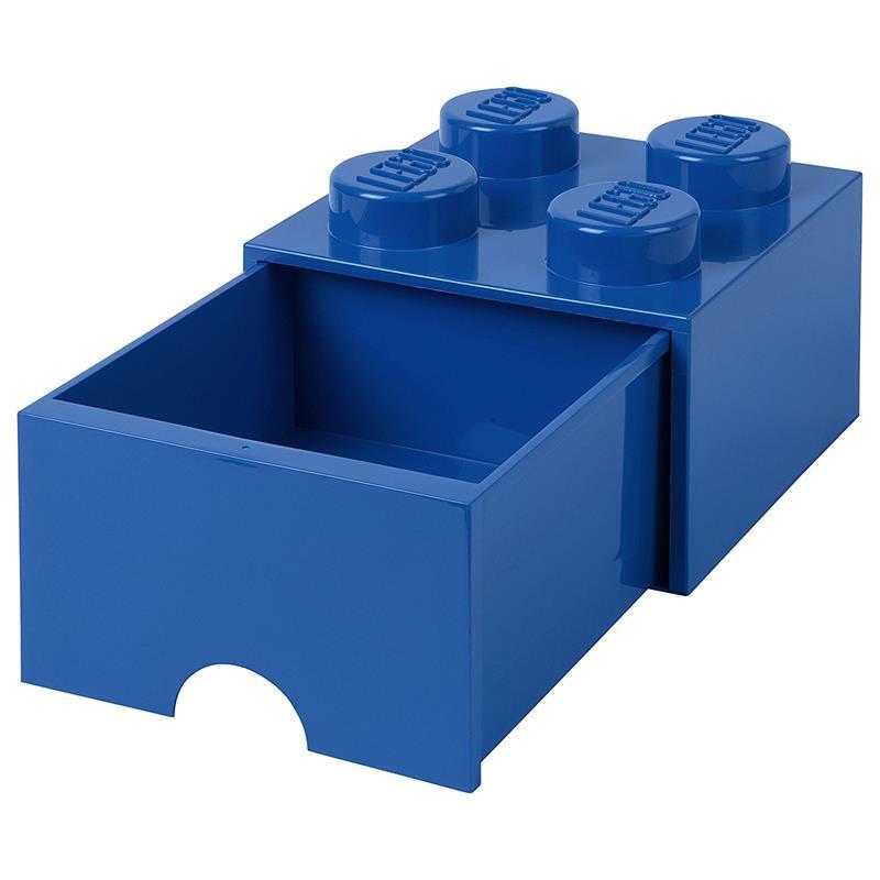 Caixa de armazenamento LEGO azul