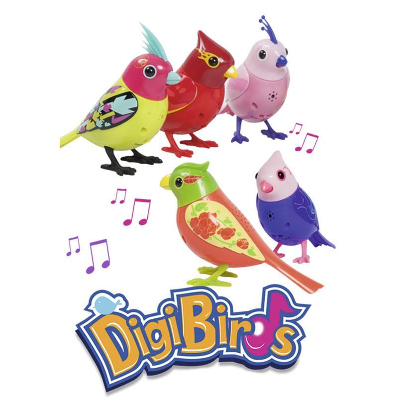 Digibirds passarinho eletrónico