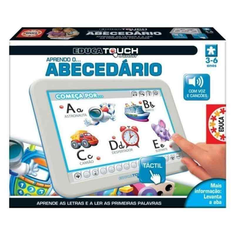 Educa touch júnior aprendo o abecedário