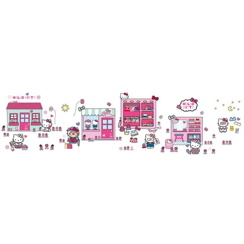 Hello Kitty autocolantes de parede