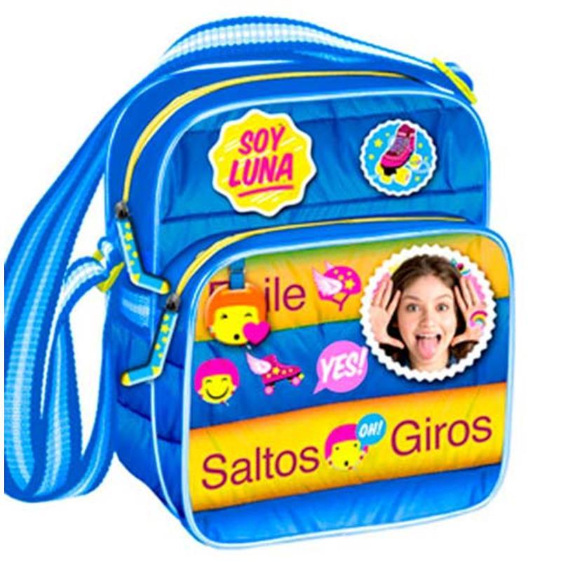 Soy Luna bolsa tiracolo anoraque azul 23cm