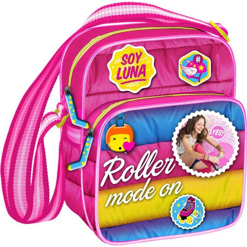 Soy Luna bolsa tiracolo anoraque rosa