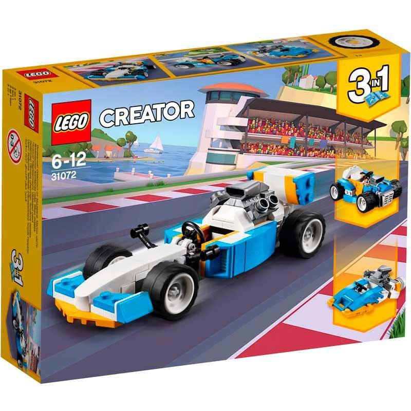 LEGO Creator motores de corrida radical