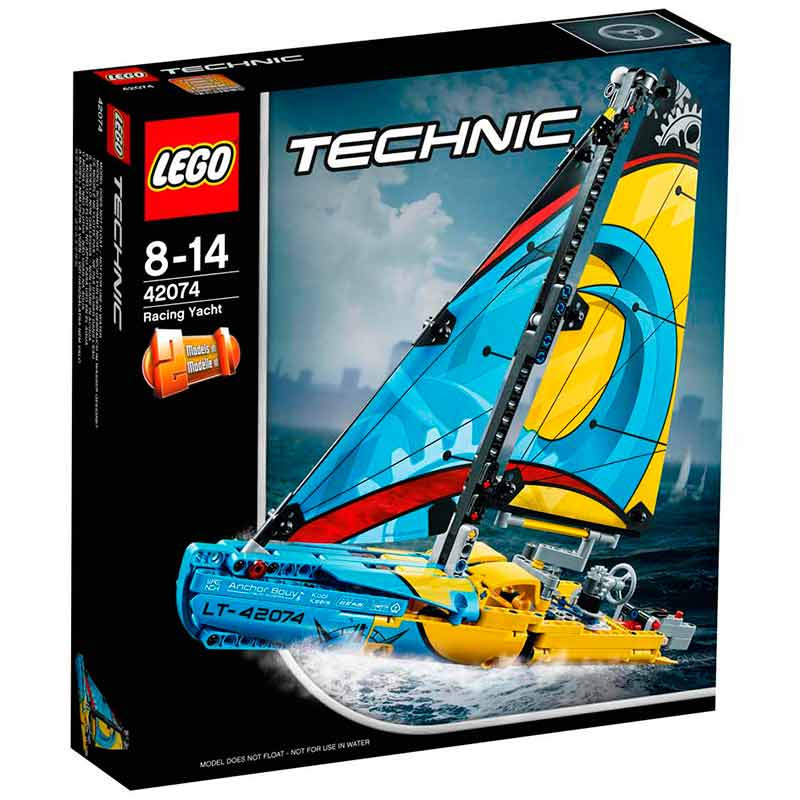 LEGO Technic iate de corrida