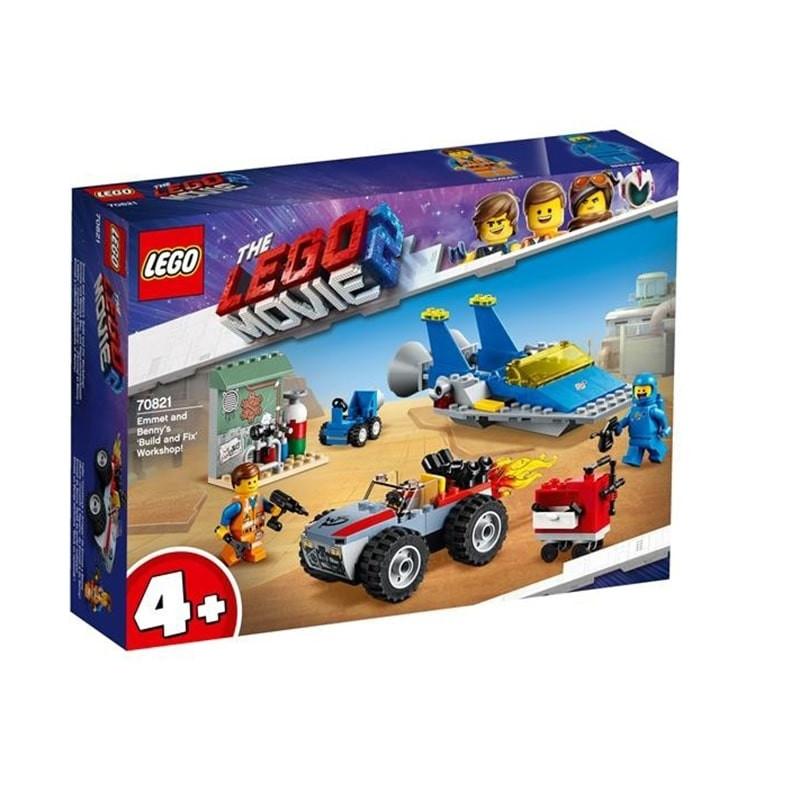 LEGO Movie 2 oficina de reparação Emmet e Benny