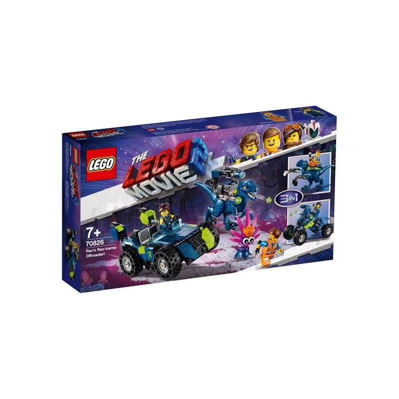 LEGO Movie 2 todo-o-terreno Rextremo Rex