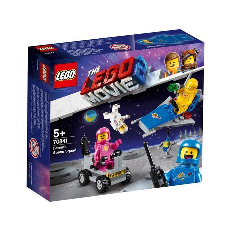 LEGO Movie 2 equipa espacial do Benny