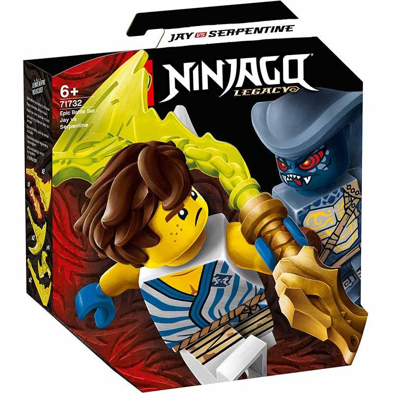 Lego Ninjago Set Combate Épico Jay vs Serpentine