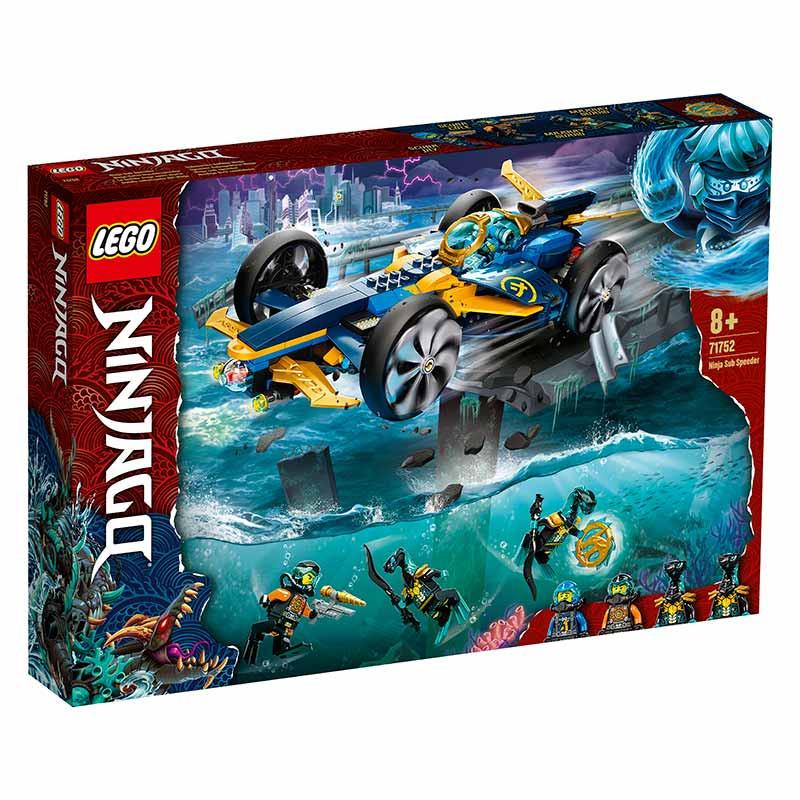Lego Ninjago Speeder Subaquático Ninja