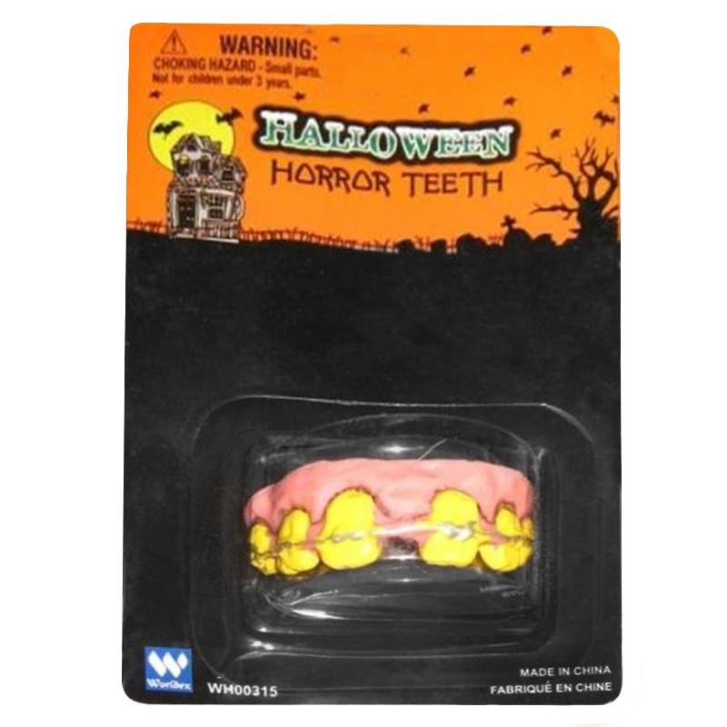 Dentes Horror Carnaval e Halloween