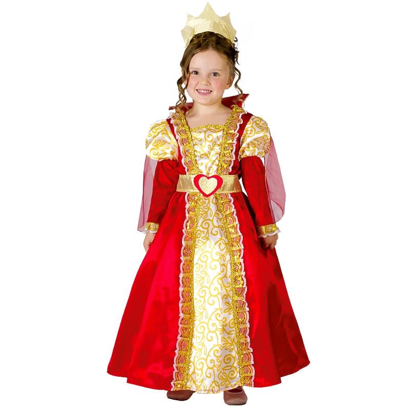 Disfarce rainha medieval bebé