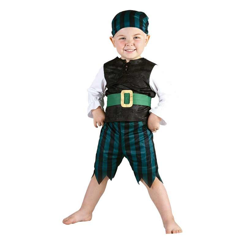 Carnaval Pirata bebé