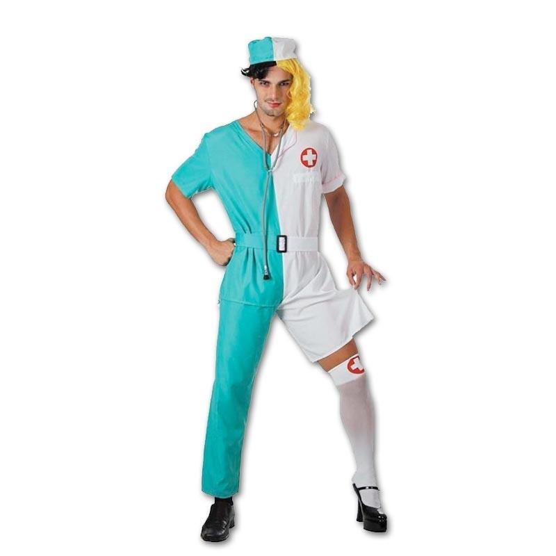 Disfarce Doutor/Enfermeira Adulto