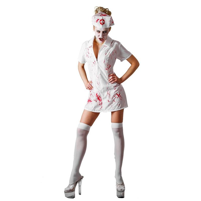 Disfarce Enfermeira Zombie Adulto