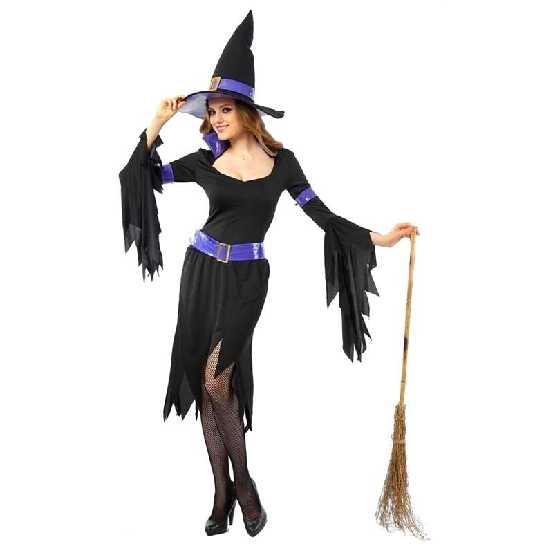 Disfarce Bruxa Glamour Adulto Halloween