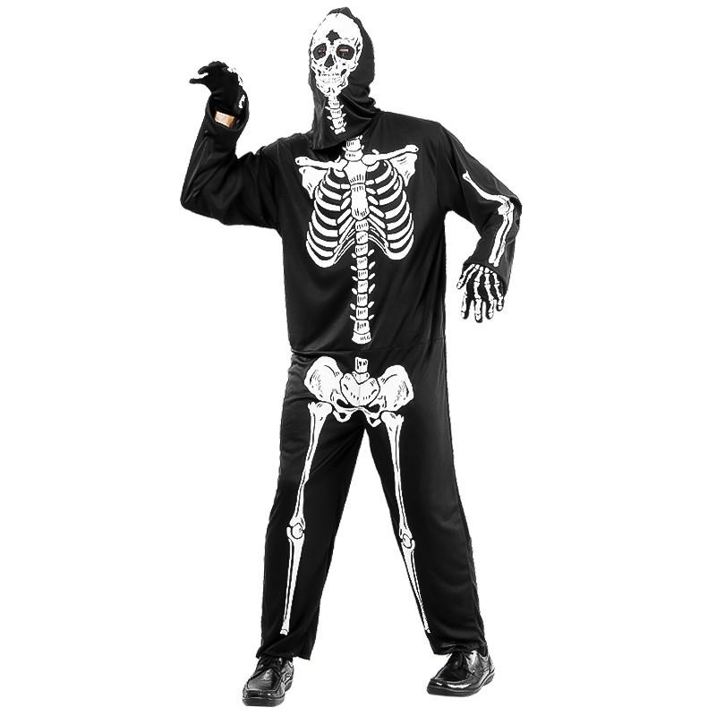 Disfarce Esqueleto Homem Adulto