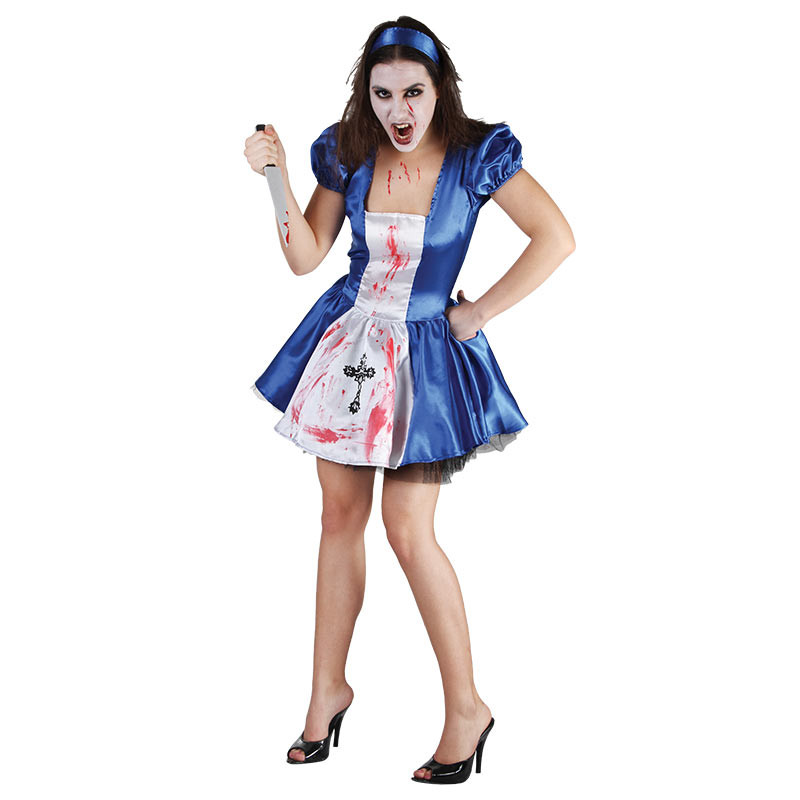 Disfarce Alice enfeitiçada Adulto T/U
