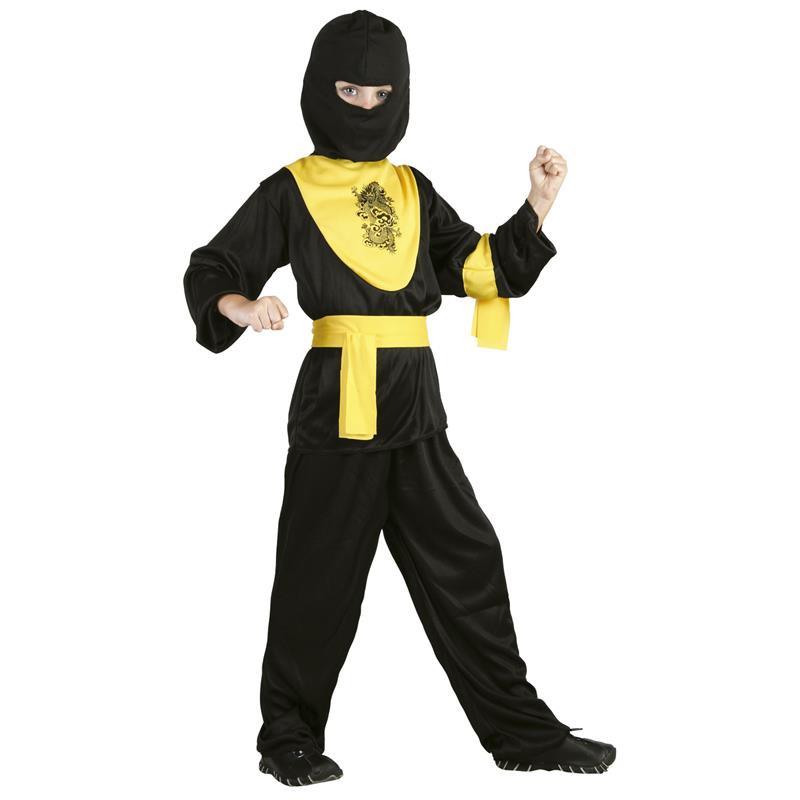 Disfarce ninja dragão infantil
