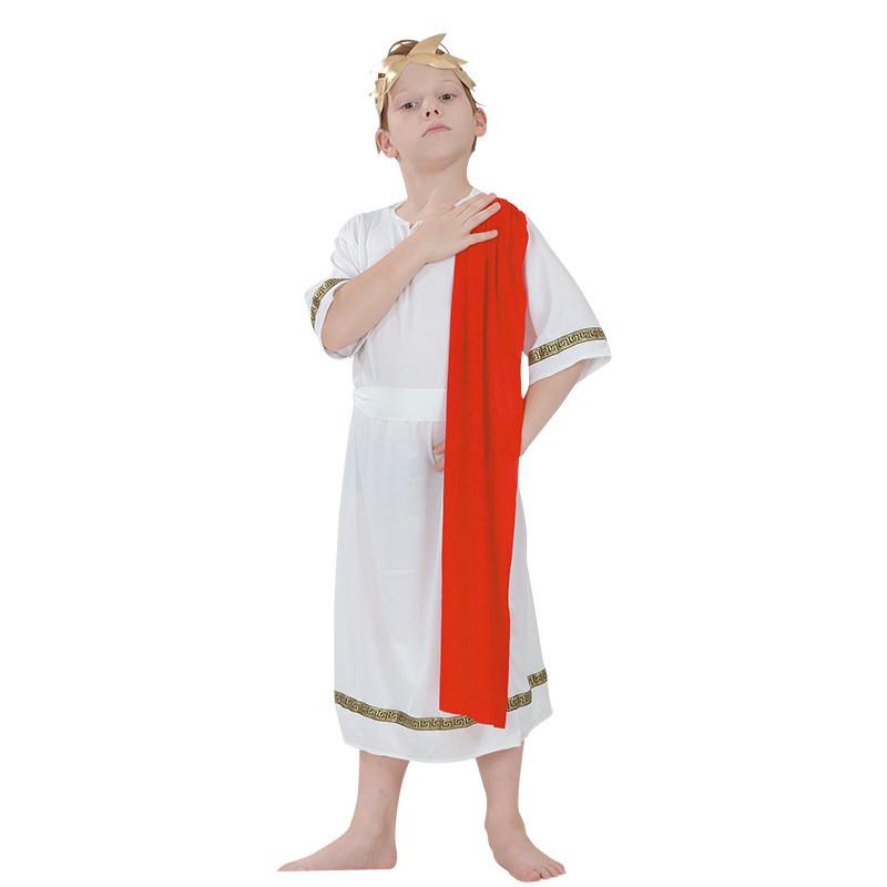 Disfarce Emperador romano infantil