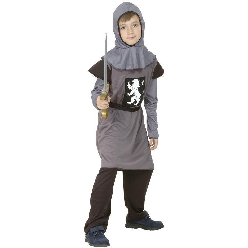 Disfarce cavaleiro medieval infantil