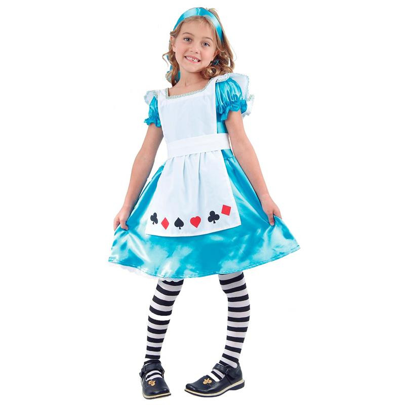 Disfarce Alice infantil