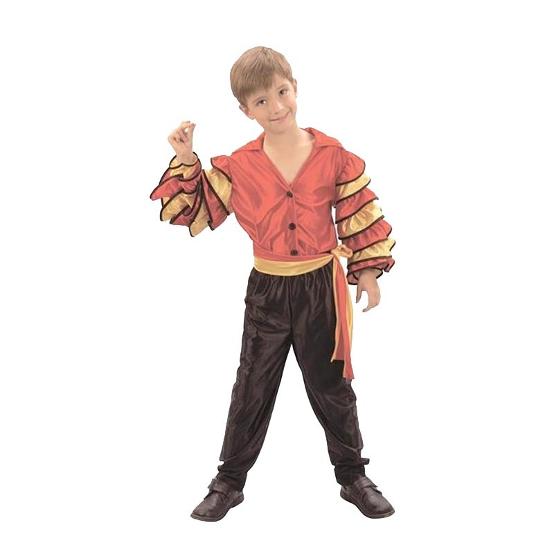 Disfarce dançarino de rumba infantil