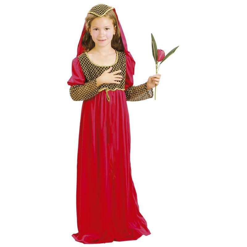 Disfarce donzela medieval infantil