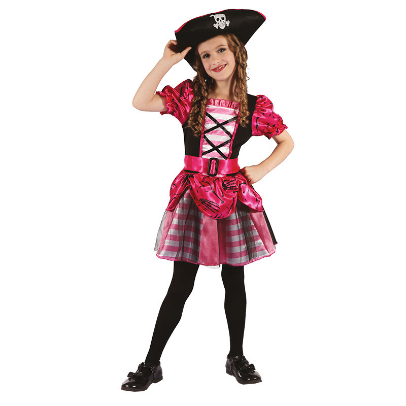 Disfarce Pirata infantil de menina
