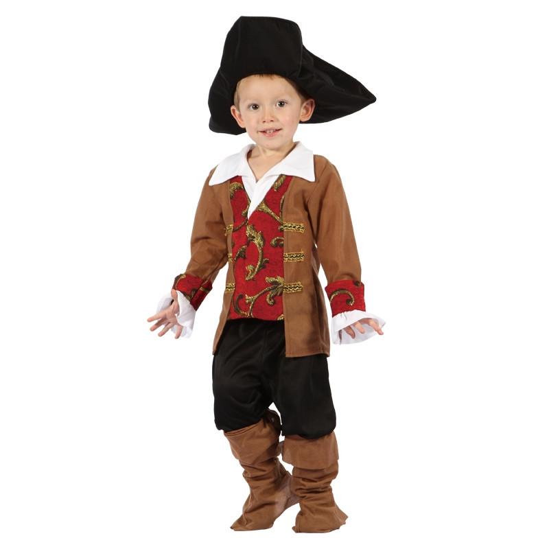 Disfarce Pirata Bebé