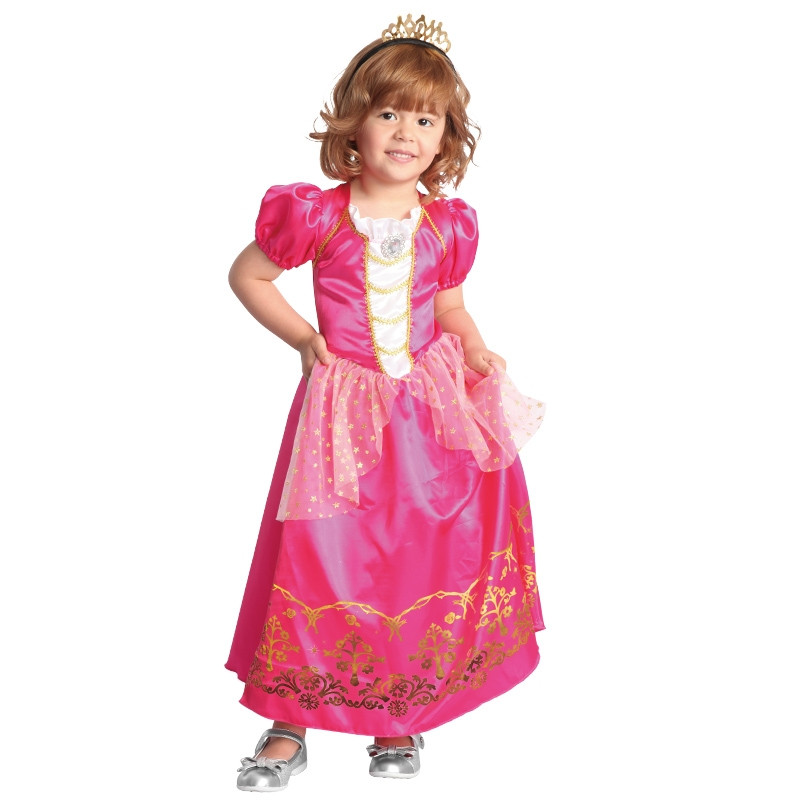 Disfarce Princesa Rosa Bebé