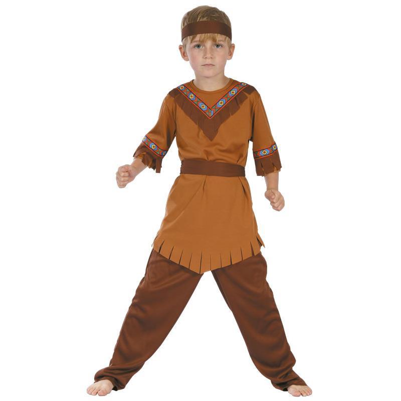 Disfarce menino índio infantil