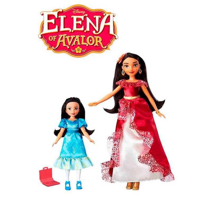 Elena de Avalor e princesa Isabel