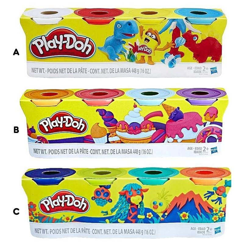 Play-Doh Pack de 4 frascos